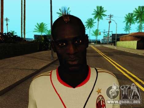 Mario Balotelli v2 para GTA San Andreas sexta pantalla