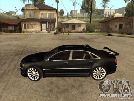 Audi A8 Tuned para GTA San Andreas left