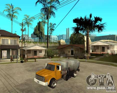 Camión de limpieza para GTA San Andreas