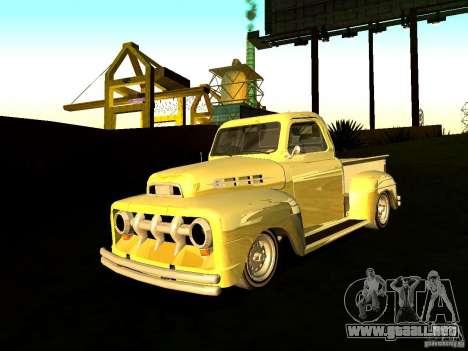 Ford Pick Up Custom 1951 LowRider para GTA San Andreas