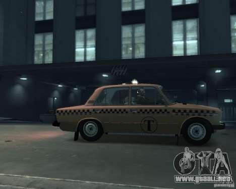 Taxi 2106 VAZ para GTA 4 left