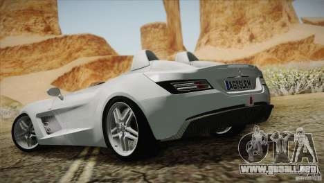 Mercedes-Benz SLR Stirling Moss 2005 para GTA San Andreas interior