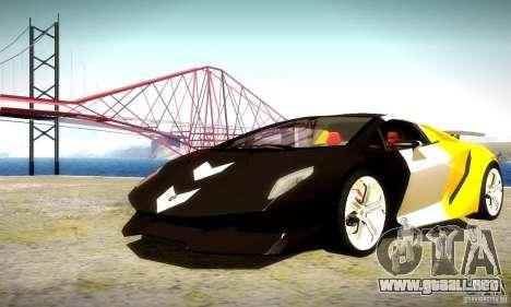 Lamborghini Sesto Elemento para la vista superior GTA San Andreas
