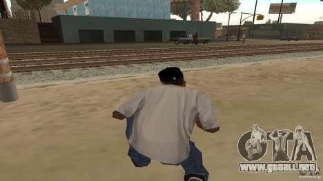 Cap 228 para GTA San Andreas segunda pantalla