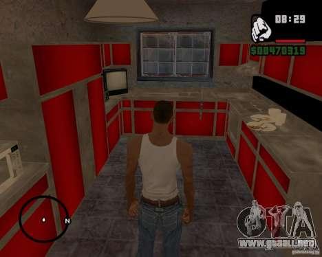 Casa Hunter v 1.0 para GTA San Andreas sucesivamente de pantalla