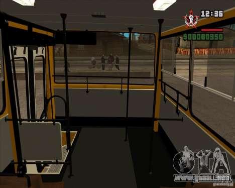 Ikarus 260.04 para visión interna GTA San Andreas