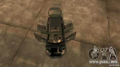 Volkswagen Tiguan para GTA 4 vista interior