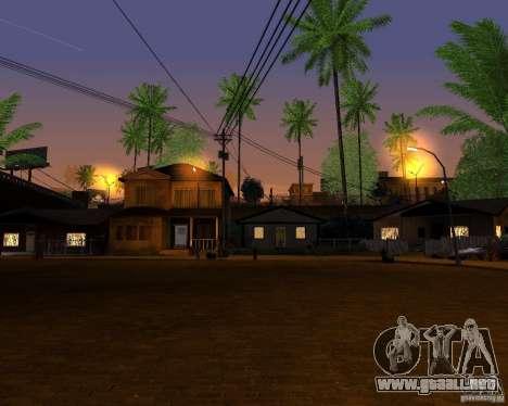 Real World ENBSeries v4.0 para GTA San Andreas sucesivamente de pantalla