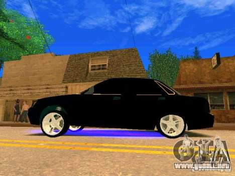 LADA Priora oro 2170 Edition para visión interna GTA San Andreas