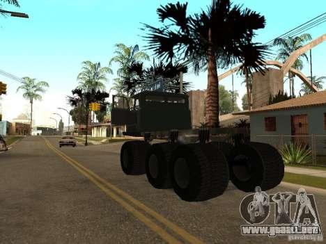 GAZ 66 Saiga para la visión correcta GTA San Andreas