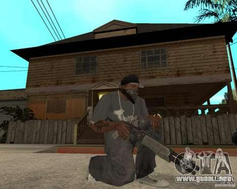 SPAS-12 para GTA San Andreas segunda pantalla
