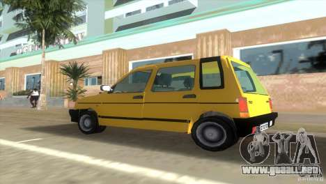 Daewoo Tico para GTA Vice City vista lateral izquierdo