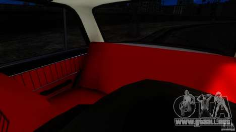 VAZ 2101 para GTA 4 vista interior