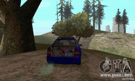 LADA 2170 JDM para visión interna GTA San Andreas