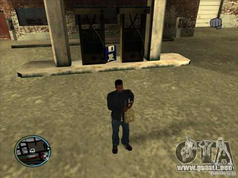 SA IV WEAPON SCROLL 2.0 para GTA San Andreas tercera pantalla