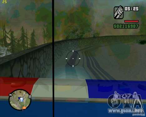 U.S.M.C. Desant para GTA San Andreas quinta pantalla
