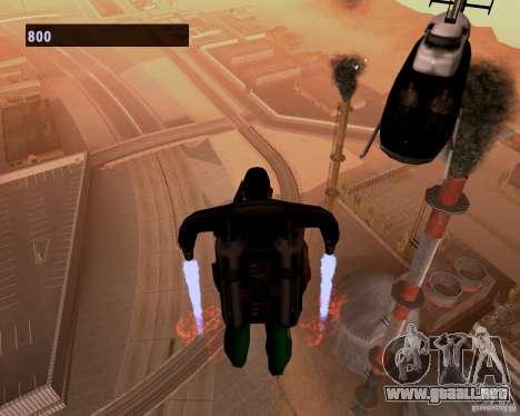 Pilotos de helicópteros para GTA San Andreas tercera pantalla