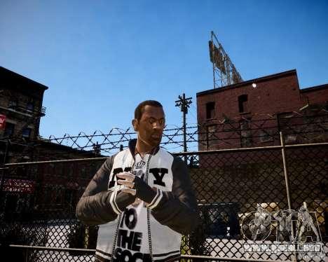 Niko - Cj para GTA 4 segundos de pantalla