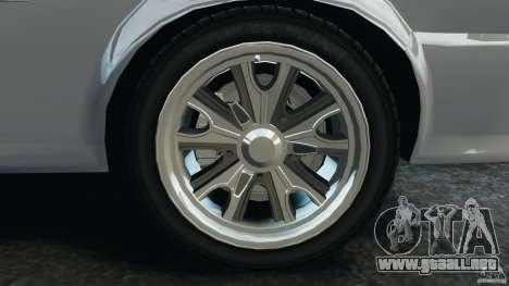 Shelby GT 500 Eleanor para GTA 4 vista superior
