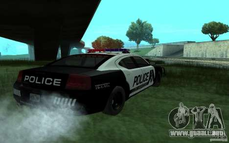Dodge Charger Police para GTA San Andreas left