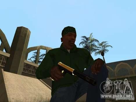 Armas de Pak de oro para GTA San Andreas quinta pantalla