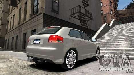 Audi S3 2006 v1.1 no es tonirovanaâ para GTA 4 left