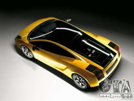Lamborghini Loadscreens para GTA San Andreas segunda pantalla