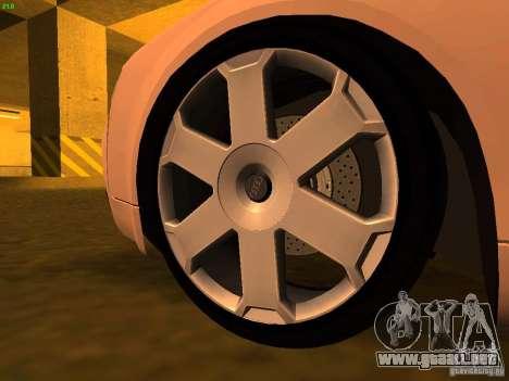 Audi S4 OEM para la visión correcta GTA San Andreas
