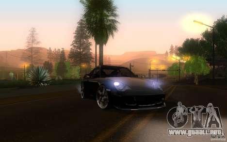 Ruf R-Turbo para visión interna GTA San Andreas