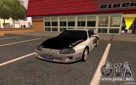 Toyota Supra RZ 1998 para GTA San Andreas