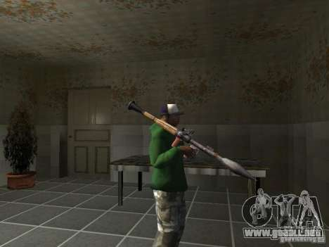 Pak domésticos armas V2 para GTA San Andreas twelth pantalla