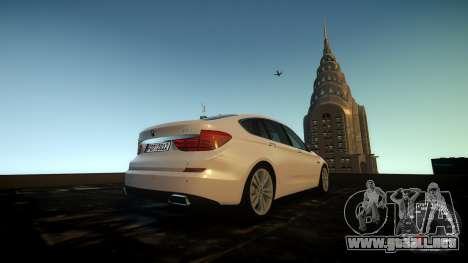 BMW GT F07 2012 GranTurismo para GTA 4 vista interior