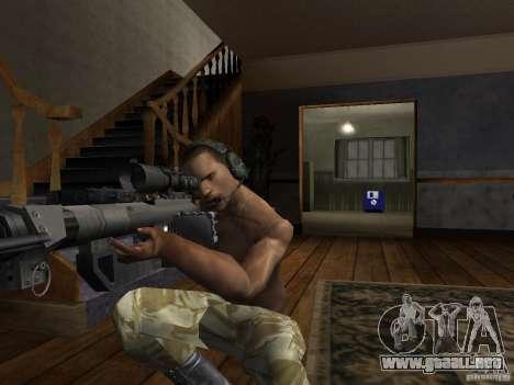 Sombreros de Call of Duty 4: Modern Warfare para GTA San Andreas sexta pantalla