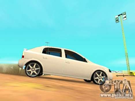 Chevrolet Astra Hatch 2010 para GTA San Andreas left