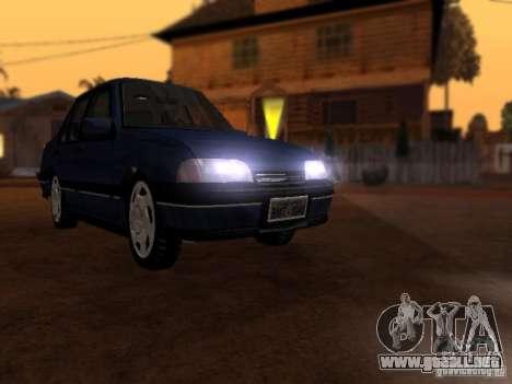 Chevrolet Monza GLS 1996 para GTA San Andreas vista posterior izquierda