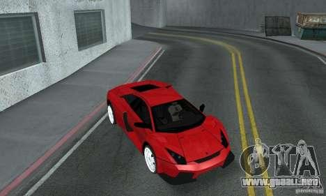 Lamborghini Murcielago Tuned para visión interna GTA San Andreas