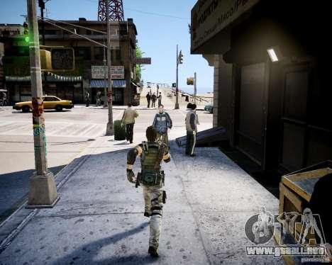 Chris from Resident Evil 5 para GTA 4 segundos de pantalla