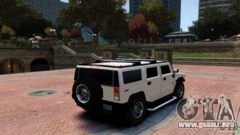 Hummer H2 para GTA 4 left