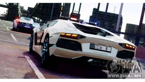 Lamborghini Aventador LP700-4 Dubai Police v1.0 para GTA 4
