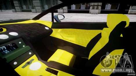 Lamborghini Gallardo para GTA 4 vista interior