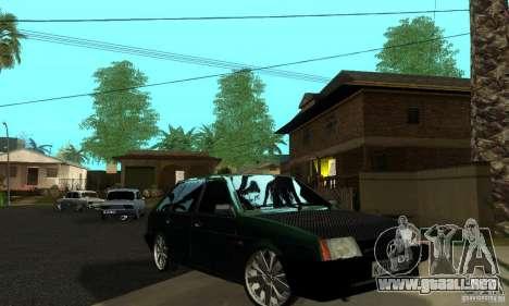 VAZ 2109 luz Tuning para la vista superior GTA San Andreas