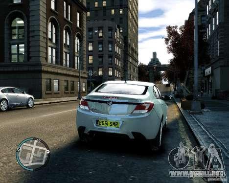 Vauxhall Insignia v1.0 para GTA 4 vista interior