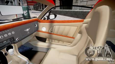 Morgan Aero SS v1.0 para GTA 4 vista interior