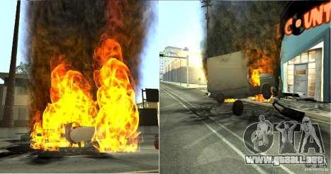 Overdose Effects v 1.4 para GTA San Andreas quinta pantalla