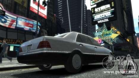 Mercedes-Benz 600SEL wheel2 tinted para GTA 4 left