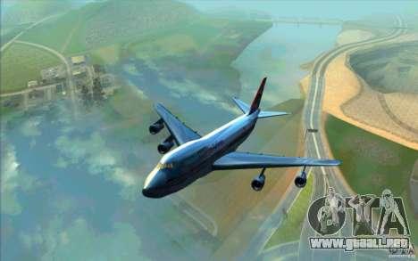 B-747 American Airlines Skin para GTA San Andreas