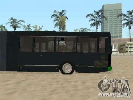 Trailer de Liaz 6212 para GTA San Andreas vista hacia atrás