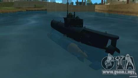 Seehund Midget Submarine skin 2 para GTA Vice City vista lateral izquierdo
