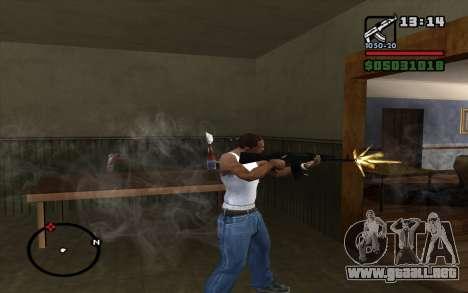 El AK-74 m para GTA San Andreas tercera pantalla