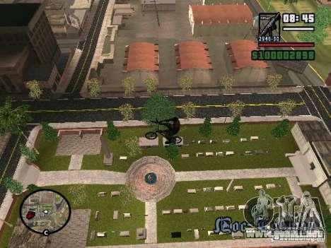 Motos voladoras para GTA San Andreas segunda pantalla